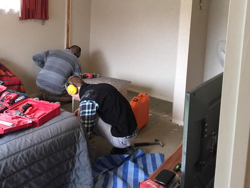 Abode Wardrobe Installation Staff