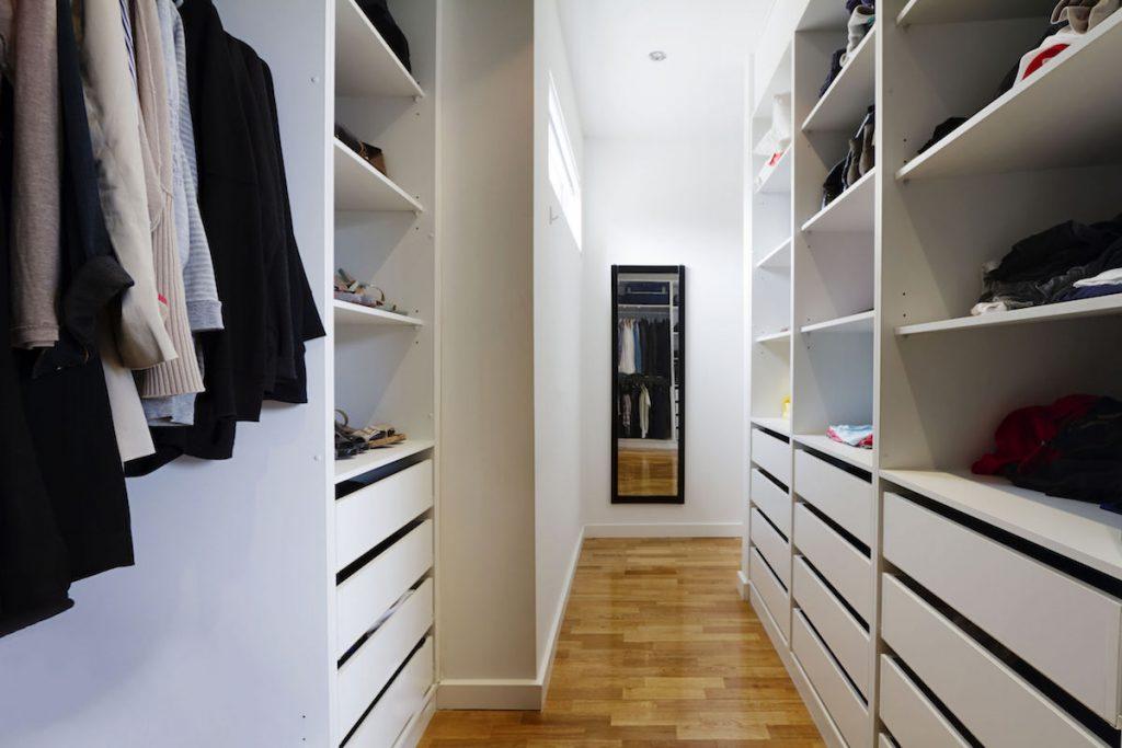 Walk-in wardrobe custom design | Abode Wardrobe