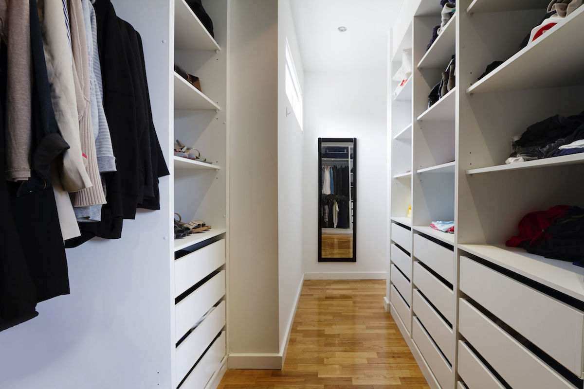 Walk-in wardrobe custom design | Abode Wardrobe