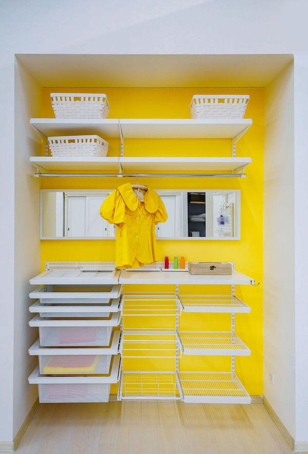 Wardrobe organiser for cupboards